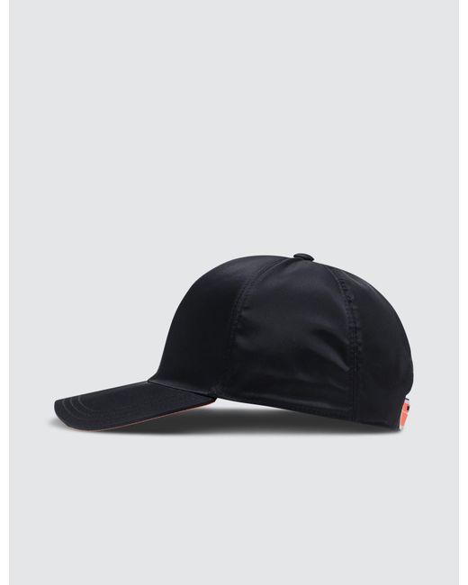 3cd18dd4638 ... Prada - Orange Fluro Cap for Men - Lyst ...