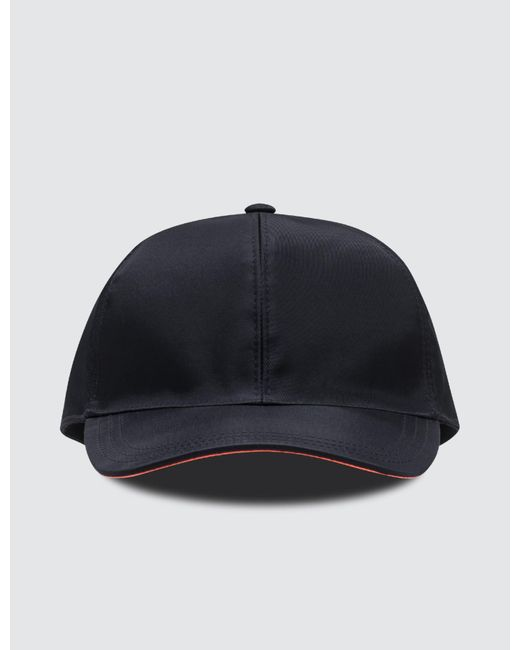 f574521edb3 Prada - Orange Fluro Cap for Men - Lyst ...