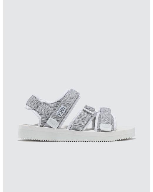 Suicoke - White Kisee-vkn Sandals for Men - Lyst