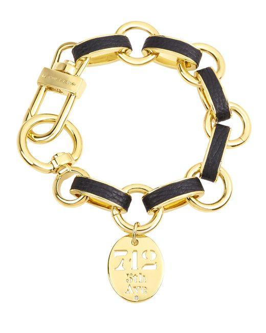 Henri Bendel   Multicolor Carlyle Leather Wrapped Charm Bracelet   Lyst