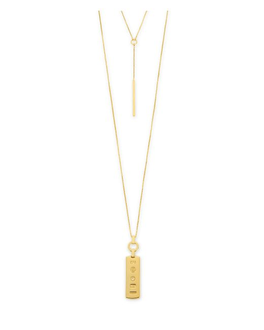 Henri Bendel | Metallic Luxe 712 Double Necklace | Lyst