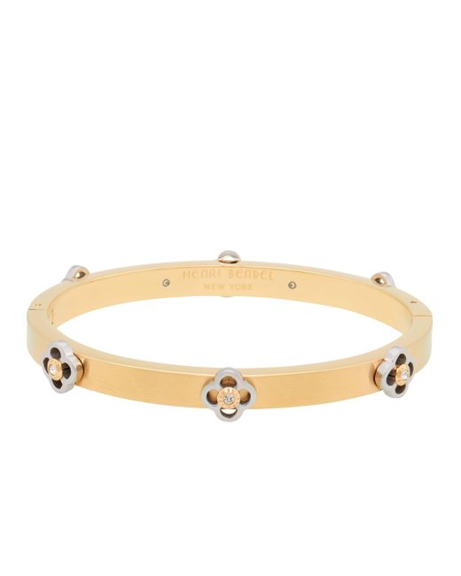 Henri Bendel - Metallic Miss Bendel Petal Bangle - Lyst