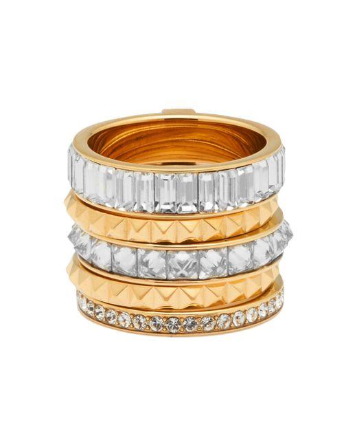 Henri Bendel | Metallic Chrysler Puzzle Ring | Lyst