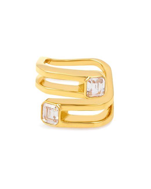 Henri Bendel | Metallic Luxe Signet Stone Wrap Ring | Lyst