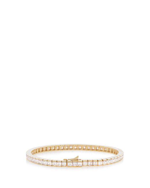 Henri Bendel - Metallic Luxe Tennis Bracelet - Lyst