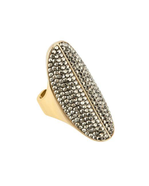 Henri Bendel | Metallic Bendel Rocks Ring | Lyst