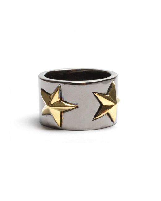 Tomasz Donocik | Tomaz Donocik Black Star Ring Black Rhodium | Lyst