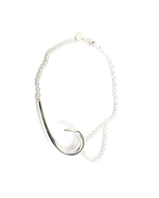 Shaun Leane - Metallic Sterling Silver Hook Bracelet - Lyst