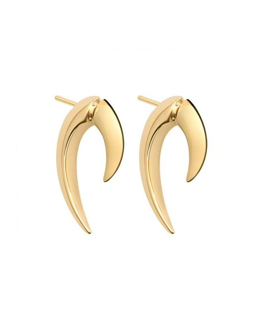 Shaun Leane - Metallic Gold And Silver Vermeil Talon Earrings Gold - Lyst