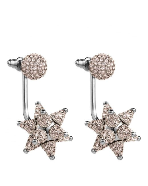 Atelier Swarovski - Metallic Kalix Pierced Earring Jackets Silver - Lyst