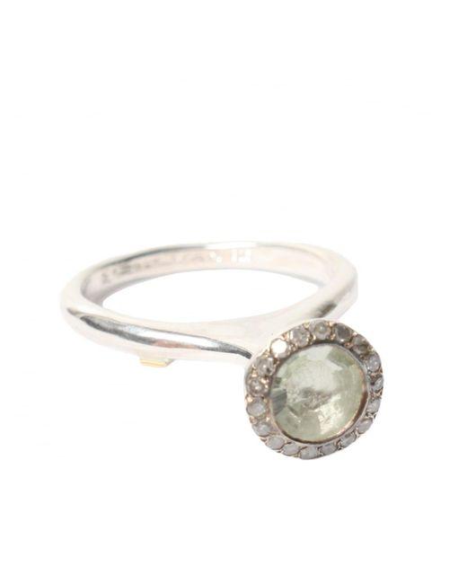 Rosa Maria | Metallic Belquis Prasiolite Ring Silver | Lyst