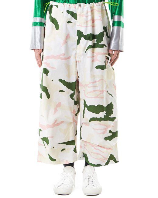 Sankuanz | Multicolor Crepe-knit Camouflage Trousers for Men | Lyst