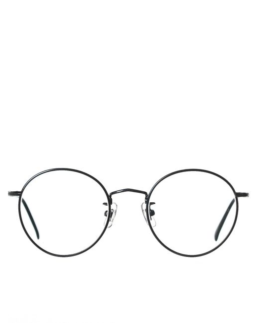 Lyst - Hakusan \'boston\' Round-frame Glasses for Men