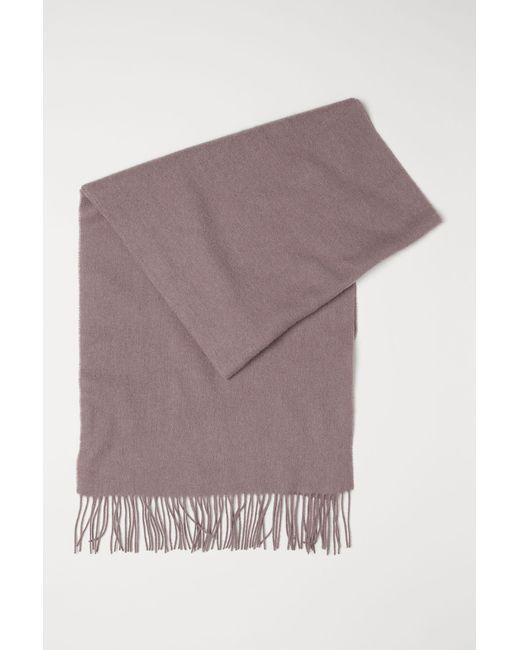 87c1e3a648a9 Lyst - Écharpe en laine H M en coloris Violet