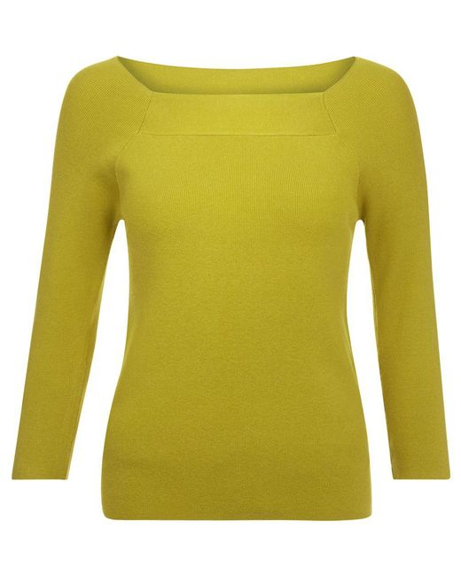 Hobbs | Yellow Sophia Sweater | Lyst