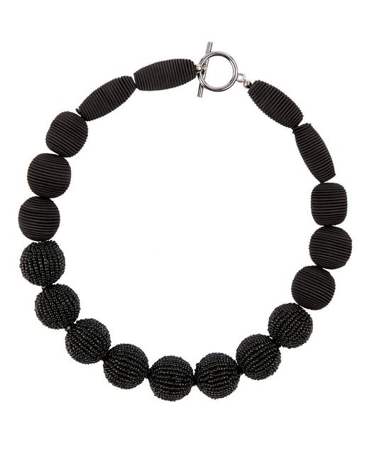 Hobbs - Black Octavia Necklace - Lyst