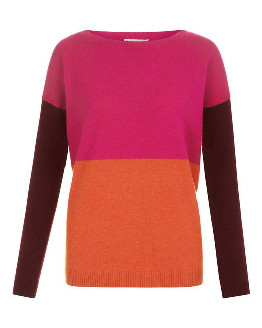Hobbs - Pink Sofia Sweater - Lyst