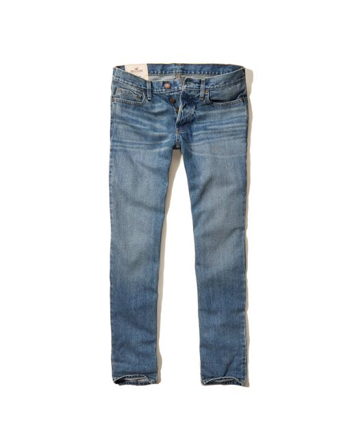 Hollister Skinny Jeans in Blue for Men (LIGHT WASH) - Save 50% | Lyst