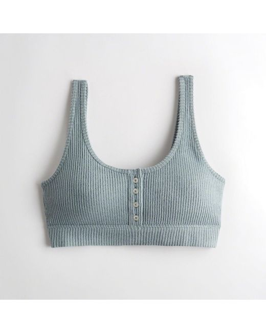 2fdf594ace0 Hollister - Blue Girls Dreamworthy Scoop Bralette With Removable Pads From  Hollister - Lyst