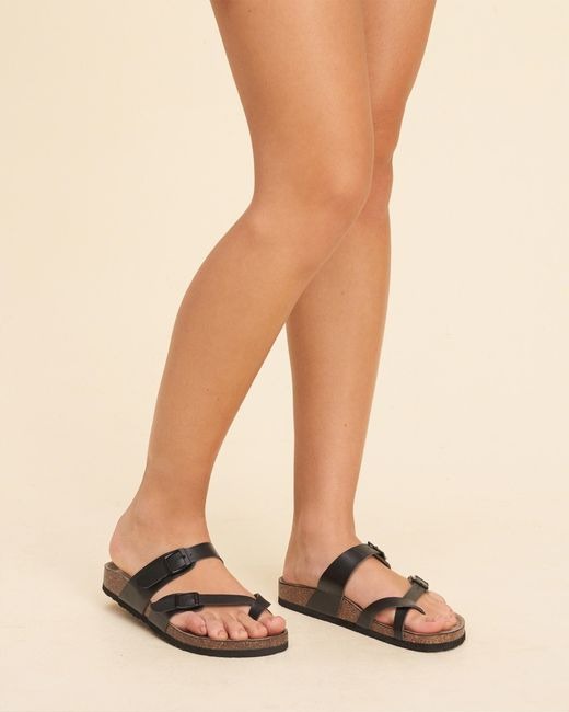 Madden Girl Women S Cactuss Boots: Hollister Madden Girl Bryceee Sandal In Black