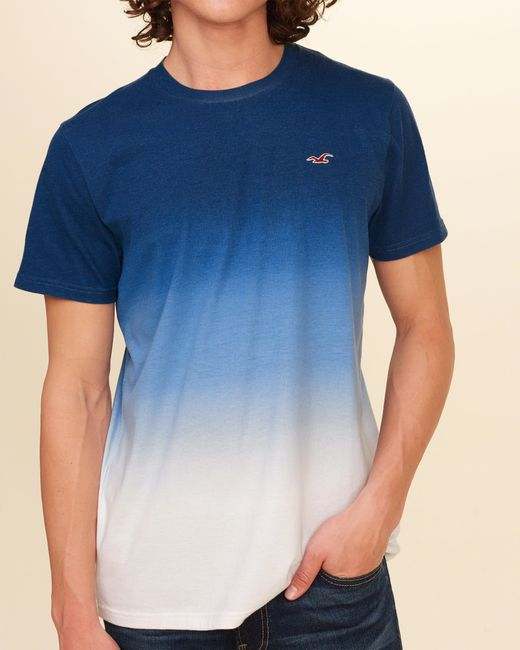 hollister shirts for men blue - photo #9