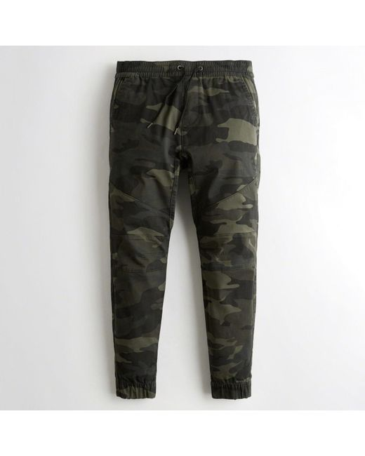 Hollister - Multicolor Guys Advanced Stretch Skinny Twill Jogger Pants From Hollister for Men - Lyst