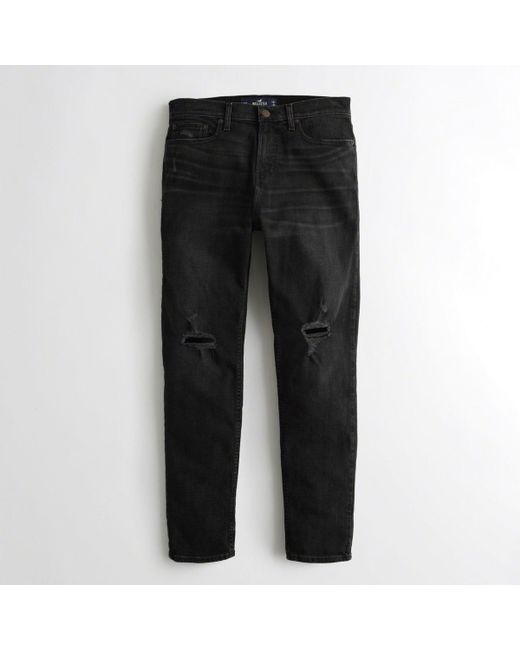 Hollister - Black Athletic Skinny Jeans for Men - Lyst