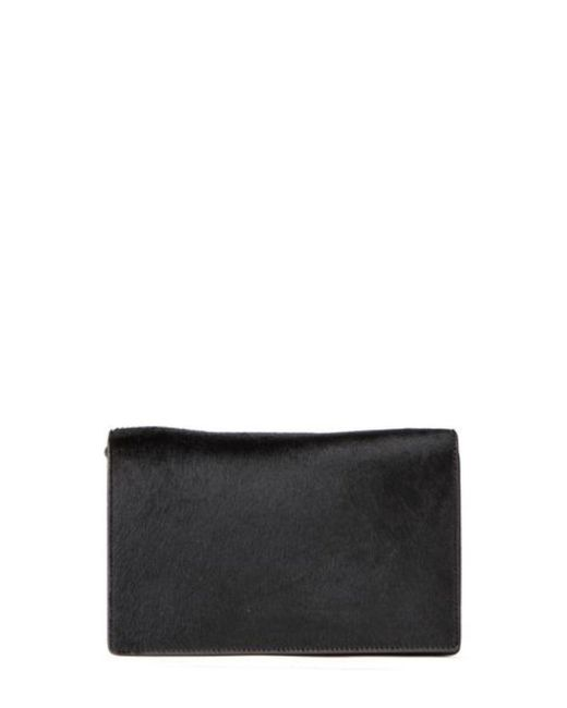 Rick Owens - Black Pony Hair Shoulder Bag - Lyst