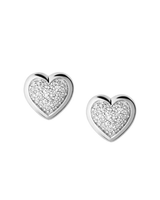 Links of London - Metallic Diamond Essentials Stud Earrings - Lyst