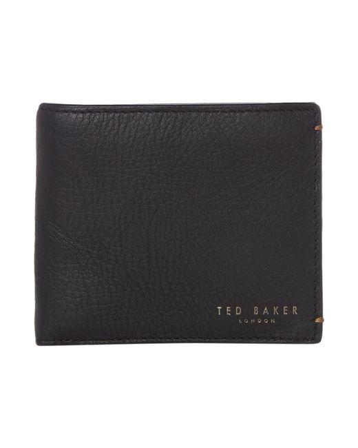 Ted Baker | Black Camlock Wallet for Men | Lyst