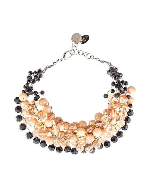 Marella | Metallic Nonna Multistrand Beaded Necklace | Lyst