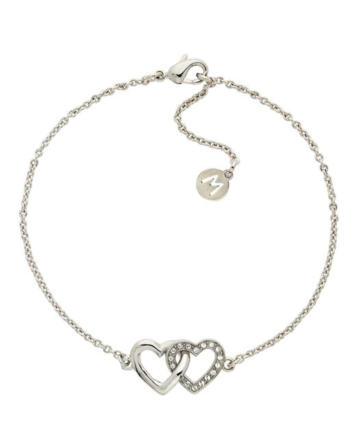 Melissa Odabash | Metallic Rhodium Sapphire Virgo Bracelet | Lyst
