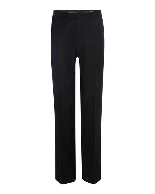 Howick - Black Fenwick Twill Suit Trousers for Men - Lyst