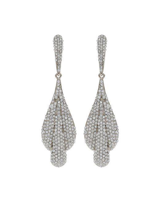 Mikey - Multicolor Triple Eclipse Crystal Studded Earring - Lyst