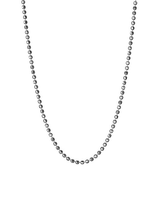 Links of London - Metallic Facetted Ball Chain 41, 45cm - Lyst