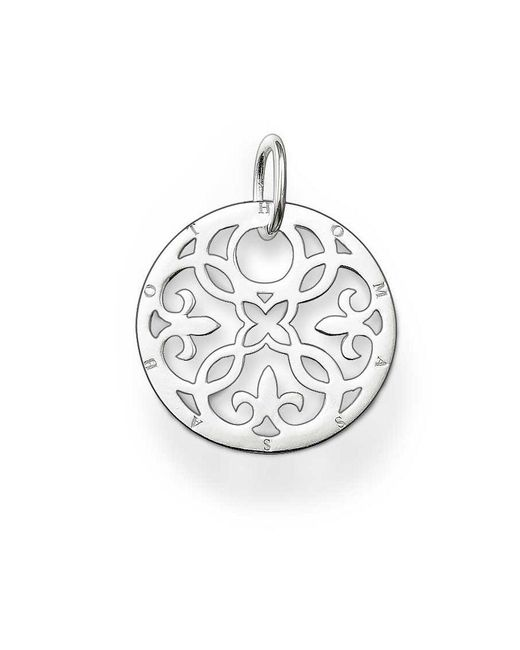 Thomas Sabo | Metallic Special Addition Silver Arabesque Disc | Lyst
