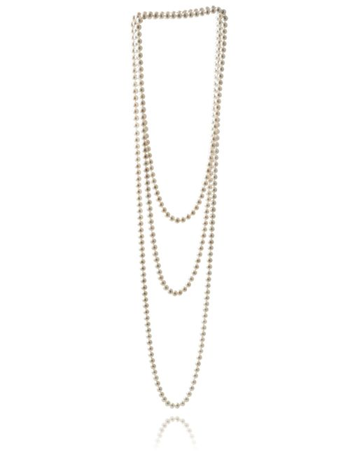 Jersey Pearl | Metallic Freshwater Pearl Necklace | Lyst