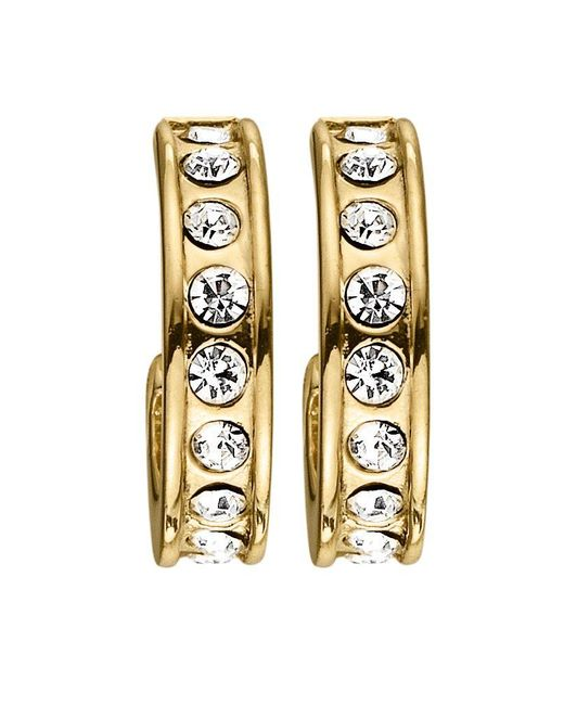Dyrberg/Kern | Metallic Desolo Shiny Gold Crystal Earrings | Lyst