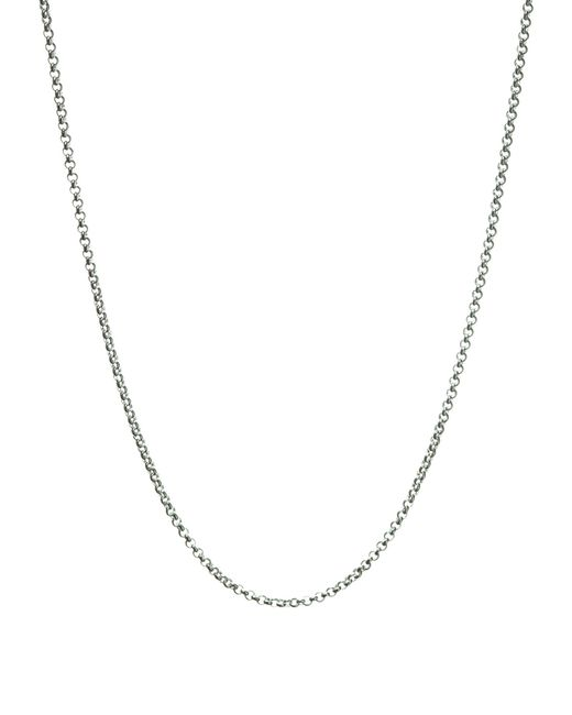 Links of London | Metallic Mini Belcher Pendant Chain - 42cm | Lyst