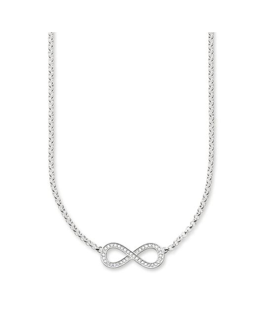 Thomas Sabo | White Glam & Soul Infinity Necklace | Lyst