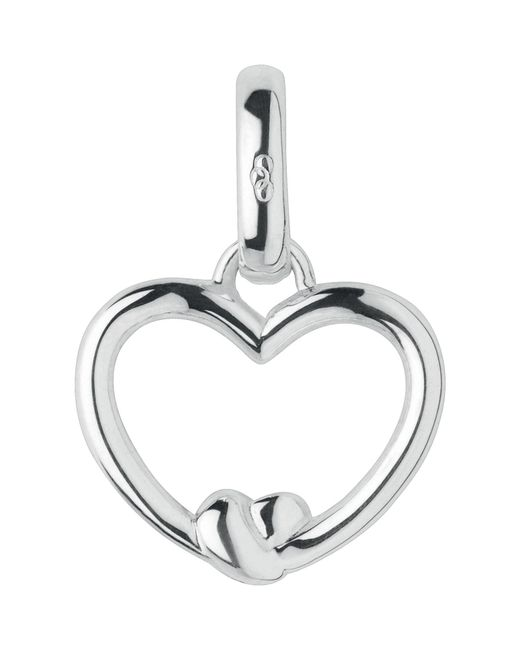 Links of London - Metallic Tie The Knot Heart Charm - Lyst