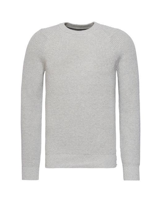 Calvin Klein   Gray Spotton Knit Sweater for Men   Lyst