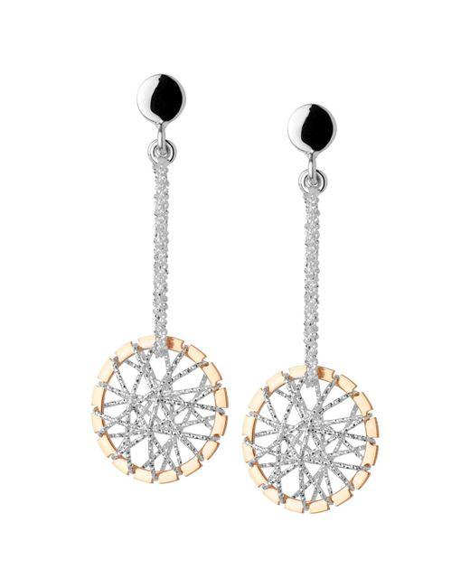 Links of London | Pink Dream Catcher Stiletto Rose Gold Earrings | Lyst