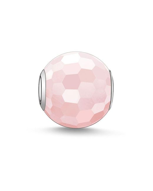 Thomas Sabo | Pink Karma Beads Bead Rose Quartz | Lyst
