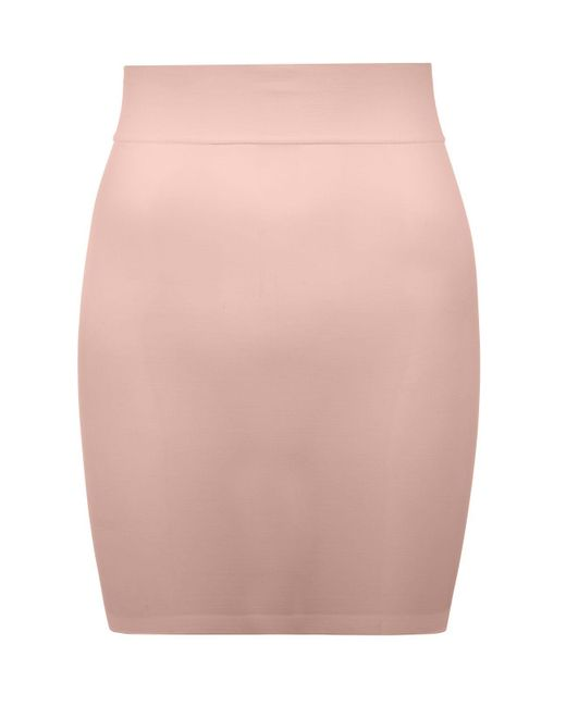 Wolford | Pink Sheer Touch Forming Skirt | Lyst