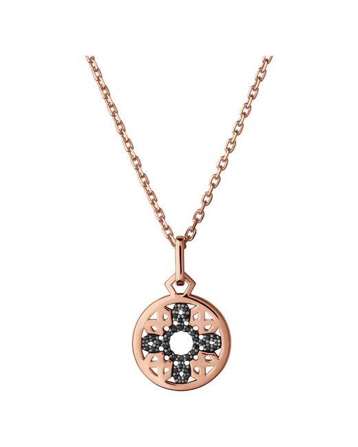 Links of London   Metallic Timeless 18kt Rose Gold Vermeil & Black Sapphire   Lyst