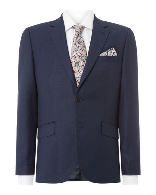 Howick - Black Darby Birdseye Slim Fit Suit Jacket for Men - Lyst