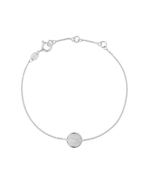 Links of London | Metallic Diamond Essentials Round Bracelet | Lyst