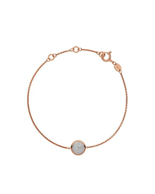 Links of London | Pink Diamond Essentials Round Bracelet | Lyst