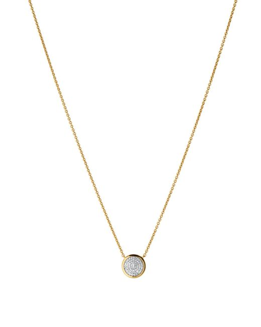 Links of London | Metallic Diamond Essentials Round Necklace | Lyst